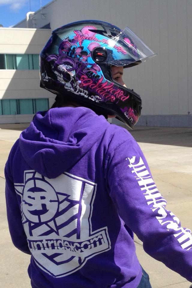 Robyn Stunts Stuntride