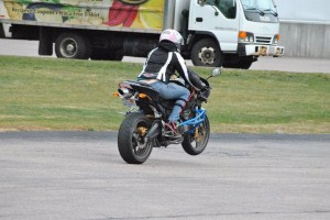 First wheelie